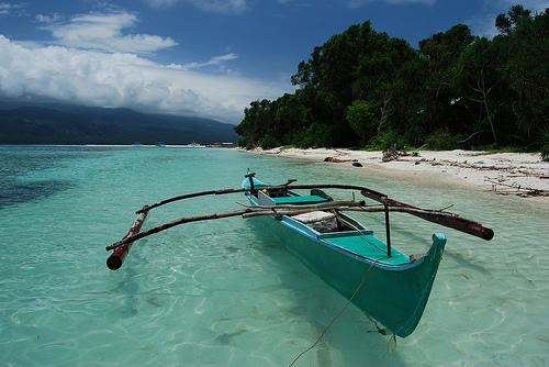 Banca on Mantigue Island, Camiguin
