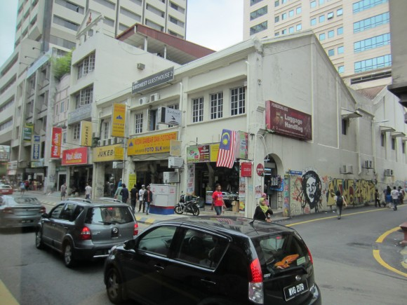 Location of the Bird Nest Guesthouse in Kuala Lumpur
