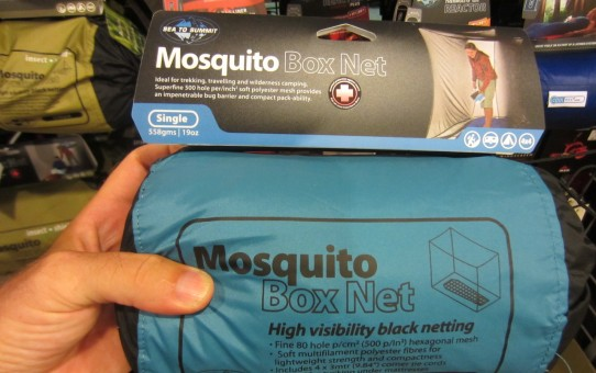 A Sea to Summit mosquito net. I purchased a similar model from Lifesystems