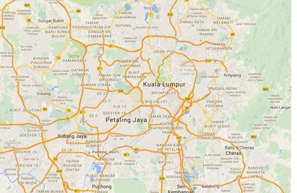 Kuala Lumpur - Nothing but highways