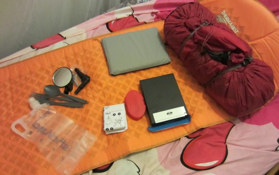 Some new toys - MSR Hubba Hubba NX, Thermarest Prolite, Mirrcycle, Platypus bag, Kindle