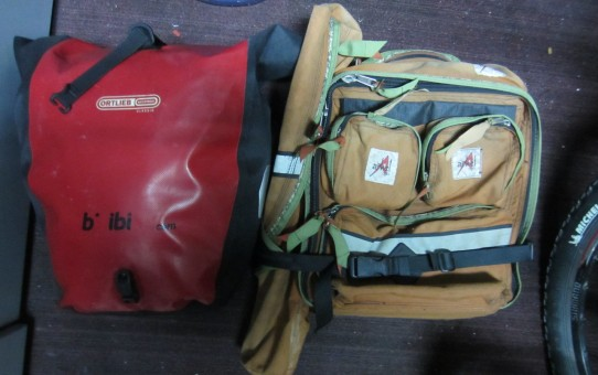 Ortlieb and Arkel Rear Pannier Bags