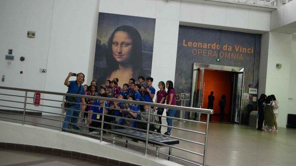 Leonardo da Vinci Exhibit - 7646