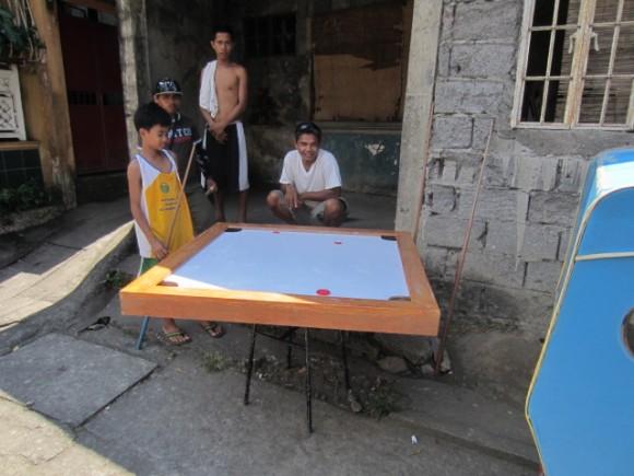 Street Pool In Legazpi Philippines