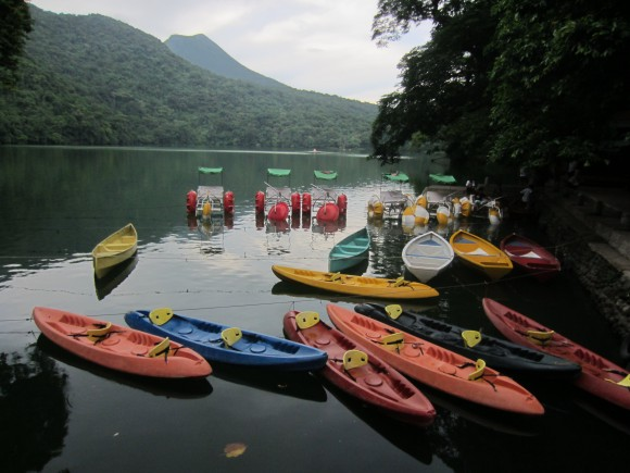 Lake at Bulusan Volcano Natural Park