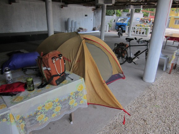 "Urban ""Camping"" at Richwell Resort in Matnog"