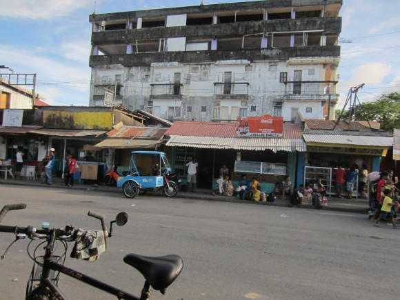 Downtown Matnog and My Lunchtime Eatery