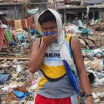 The smell of dead bodies fills the air in Tacloban