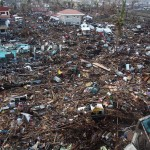 Destruction in the Magallanes District of Tacloban