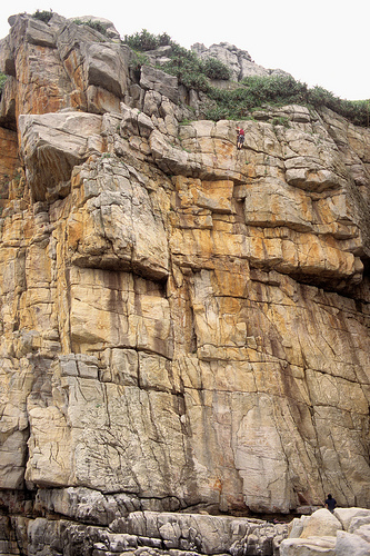 Rock Climbing Cliffs at Longdongwan